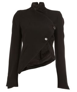 Ann Demeulemeester | Cropped Wrap Jacket