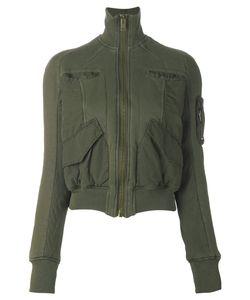 Haider Ackermann   Укороченная Куртка С Накладными Карманами