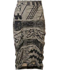 Zero + Maria Cornejo   Gemma Blanket Skirt