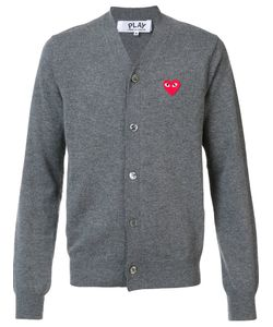 Comme des Gar ons Play | Embroidered Heart Cardigan