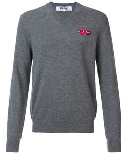 Comme des Gar ons Play | Double Heart Jumper