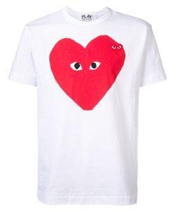 Comme des Gar ons Play | Heart Print T-Shirt