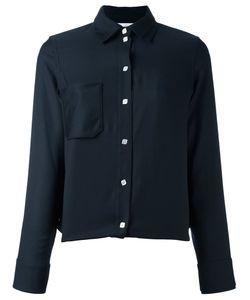 Courreges | Рубашка С Накладным Карманом
