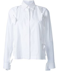 Roberts Wood | Bow Detail Split Shirt