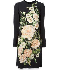 Dolce & Gabbana   Print Midi Dress