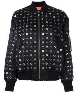 Alexander Wang | Куртка-Бомбер С Отделкой Кренгельсами