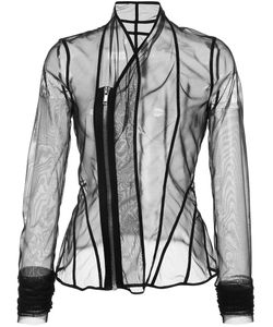 Rick Owens Lilies | Sheer Fitted Jacket