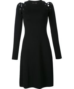 Proenza Schouler | Lace Up Long Sleeve Dress