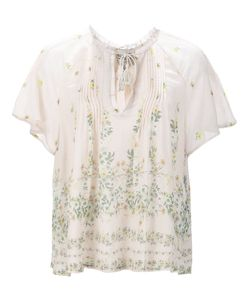 Sea | Print Sheer Blouse