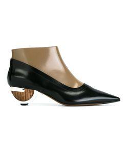 Marni | Ботинки Со Скульптурным Каблуком
