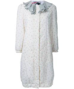 Jenny Fax | Пальто С Цветочным Рисунком И Оборками