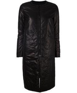 Ahirain | Кожаное Пальто На Молнии