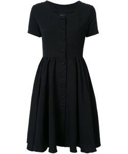 Ikumi | Short Sleeve Button Front Dress