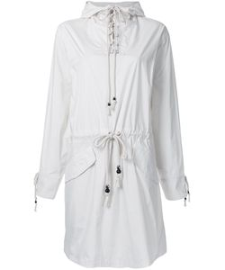 Non Tokyo | Hooded Lace-Up Dress