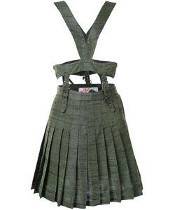 Jenny Fax | Платье С Плиссированной Юбкой И Портупеей
