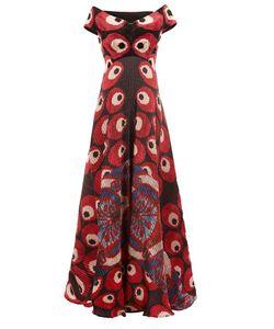 Afroditi Hera | Плиссированное Платье С Открытыми Плечами