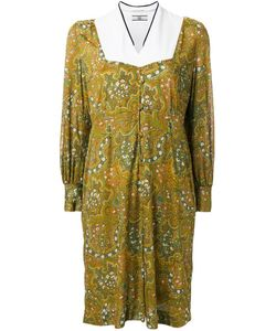Non Tokyo | Paisley Print Mid-Length Dress