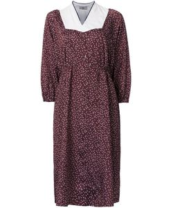 Non Tokyo | Printed Midi-Length Dress