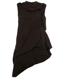 Rick Owens | Asymmetric Draped Mini Dress