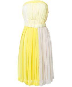 Jenny Fax | Плиссированное Платье Без Бретелек