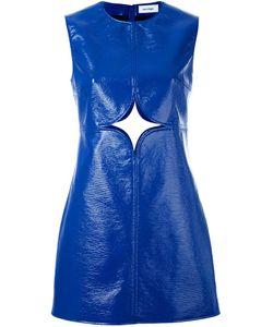 Courreges | Платье Шифт С Вырезной Деталью