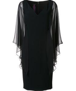 Tom And Linda Platt | Tulle Sleeve Dress