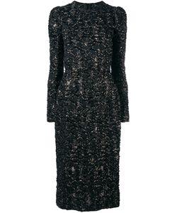 Dolce & Gabbana | Frayed Effect Midi Dress