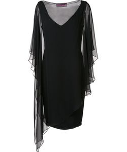 Tom And Linda Platt | Tulle Overlay Dress