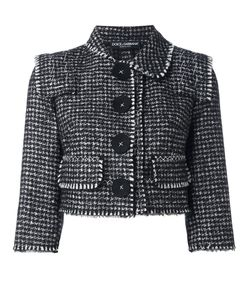Dolce & Gabbana | Tweed Cropped Jacket