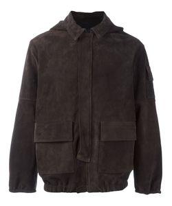 ROAD TO AWE | Hooded Suede Jacket