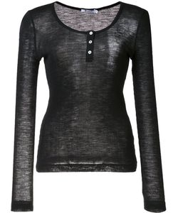 T By Alexander Wang | Fine Knit Ribbed Top