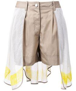 Non Tokyo | Mesh Overlay Shorts