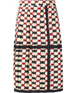 Marc Jacobs | Pixel Check Pleated Skirt