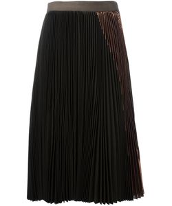 Sacai | Plissé Pleated Midi Skirt