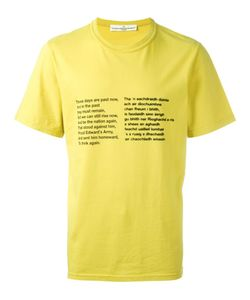 Golden Goose | Poem Print T-Shirt
