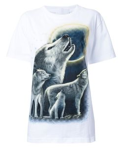Wall | Wolf Print T-Shirt