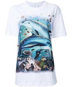 Wall | Dolphin Print T-Shirt