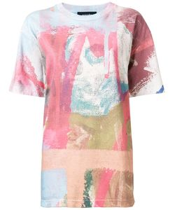 Guernika | Abstract Print Long T-Shirt