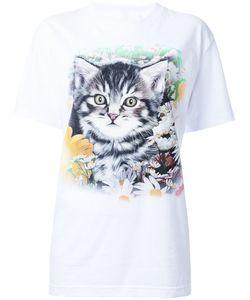 Wall | Cat Print T-Shirt