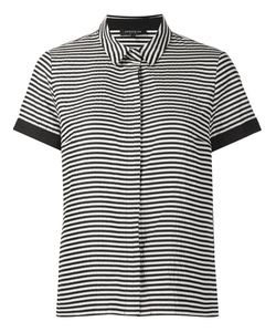 Lafayette 148 | Striped Shortsleeved Shirt