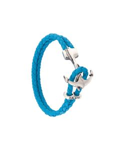 Nialaya Jewelry | Braided Anchor Bracelet