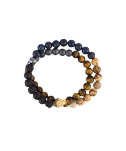 Nialaya Jewelry | Beaded Buddha Bracelet