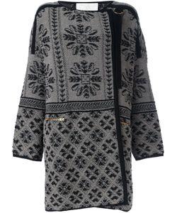 Chloe | Жаккардовое Пальто