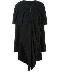 Rick Owens Lilies | Драпированное Пальто С V-Образным Вырезом
