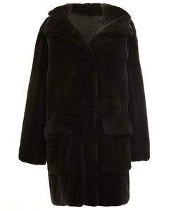 32 PARADIS SPRUNG FRERES | Reversible Hooded Coat