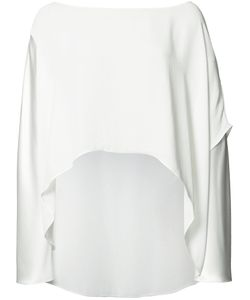 PETER COHEN | High Low Hem Blouse Xs Polyester