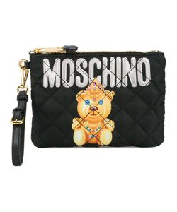 Moschino | Small Quilted Pouch Nylon/Leather