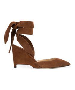 Paul Andrew   Tie Wedge Sandals Size 36