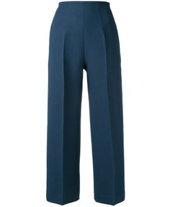 Fendi | Pleated Cropped Trousers 42