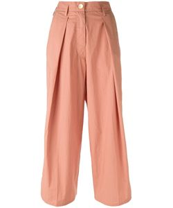 Forte Forte | Pleated Cropped Trousers Size I